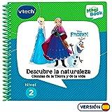VTech Libro para magibook Frozen II, Aprende en casa, Ciencias de la Tierra y de la Vida con más de 20 Actividades y Cientos de interacciones, Nivel 2, 3-6 años (3480-482122)