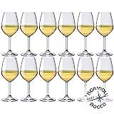 Bormioli Rocco- Divin 44 - Lot de 12verres à vin blanc Capacité: 44 cl