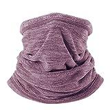 WTACTFUL Soft Fleece Neck Gaiter Neck Warmer Face...