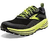 Brooks Cascadia 16 Men's Trail Running Shoe - Black/Ebony/Nightlife - 10 Wide