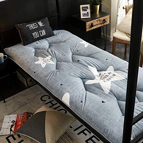 J-Kissen Dicke Tatami-Boden-Matte, Traditionelle japanische Futon Tatami Boden Matratze weiche atmungsaktive Schlafenauflage, Studentenwohnheim Bett Kissen (Color : R, Size : 100x200cm(39x79inch))