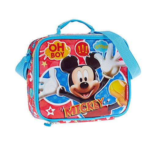 Disney Mickey Mouse Kids Lunchbox Schoudertas Picknick Kwekerij School Kid Meisje