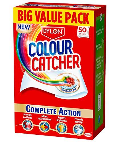 Dylon Colour Catcher Complete Action Laundry Sheets – 50 Sheets