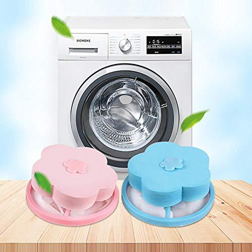SSXCO Hochwertige ultrafeine Mesh-Filterbeutel Waschmaschine praktische Haarentfernungsgerät Reinigung Ball Net Pouch Wohnaccessoires, Pink, Russische Föderation
