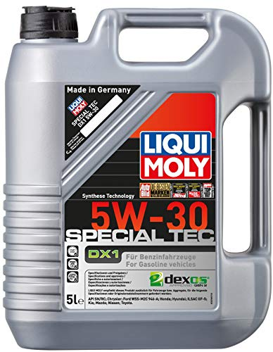 LiquiMoly SpecialTex DX1 5W30 Motoröl für den Ölwechsel beim Opel Astra K Benziner ab Baujahr 2014