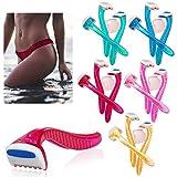 6 Pack Womens Bikini Line Razors Shave Brazilian Hair Shaver Trimmer Legs Arms !