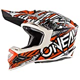 O'NEAL 8 Series Synthy Motocross Enduro MTB Helm orange/weiß 2018 Oneal: Größe: L (59-60 cm)