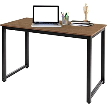 AZ L1 Life Concept Accent Writing Home Office Computer Desk, 47 inches, Natural Brown