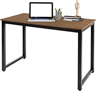 AZ L1 Life Concept Modern Studio Collection Soho Computer Table, Natural Brown Home Office Desks, 47 inches