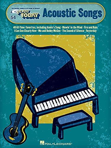 E-Z Play Today Volume 54 Acoustic Songs -Piano Book-: Noten: E-Z Play Today #54