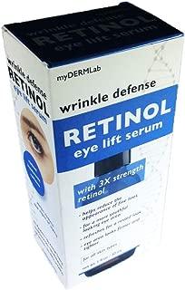 myDERMLab Wrinkle Defense Retinol Eye Lift Serum