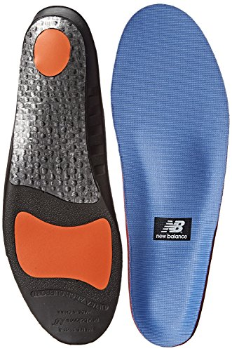 New Balance Insoles IUSA3810 Supportive Cushioning Insole, Blue, 4 US/4 M US Men's/5.5 M US...