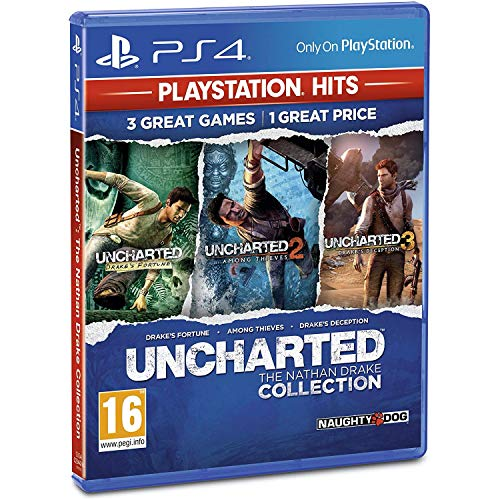 PS4 Uncharted: The Nathan Drake Collection incl. Russian Audio