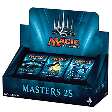 Magic the Gathering  Masters 25  Factory Sealed Booster Box MTG Card Game - 24 packs