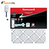 honeywell 20 x 30 x 1 - Toucan City Microfiber Duster and Honeywell 20 in. x 20 in. x 1 in. Elite Allergen Pleated FPR 10 Air Filter (4-Pack) HW10FPR20201.4