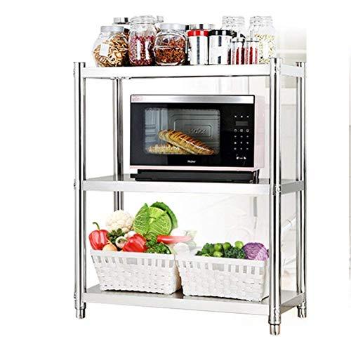 JNMDLAKO Storage Rack, Coffee Microwave Stand Toaster Baker Rack Kitchen Larger Pot Organizers Shelf Hotel Restaurant Corner