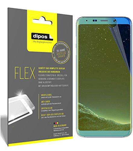 dipos I 3X Schutzfolie 100prozent kompatibel mit Bluboo S8+ Folie (Vollständige Bildschirmabdeckung) Bildschirmschutzfolie