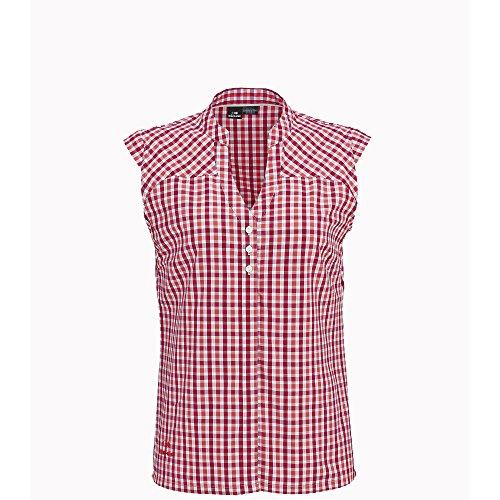 Eider - Chemisette Sherbrooke Sleeves 2.0 Cherry Rose/Poppy Femme - Femme - Taille 44 - Rouge