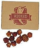 Schärfste Chili der Welt Geschenkbox - Carolina Reaper Getrocknete Früchte - Perfektes Geschenk...