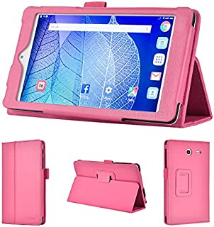 wisers 2016 ALCATEL ONETOUCH POP 7 LTE 7-inch Tablet case/Cover, Pink