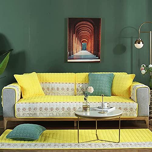 Funda de sofá fácil de Usar, Funda de sofá Reversible, Protector de Muebles, Funda de sofá, Correas elásticas, Mascotas, niños, Perros, Gatos