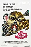 The Boy Who Cried Werewolf Movie Poster or Canvas