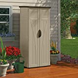 Outdoor 2 ft. 9 in. W x 2 ft. D Plastic Vertical Tool Shed
