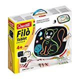 Quercetti–q0530–Lernen zu lesen und schreiben–Filo Tablet Premium -