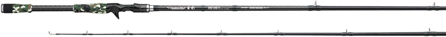 Daiwa ご予約品 RCSC-73MH Evergreen ギフ_包装 Rod Jig Sections= 1 Line Wt. Worm