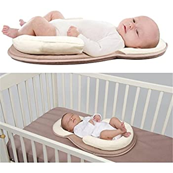 Buy Babies Bloom Newborn Brown Anti-Rollover Mattress Baby Pillow/Bed (0-12  Months) Online at Low Prices in India - Amazon.in
