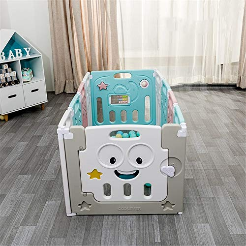 Read About Zhouminli Kids' Outdoor Safety Products Home Indoor Baby Playpen Castle Infant Doors Pane...
