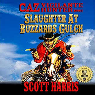 Slaughter at Buzzard's Gulch audiobook cover art