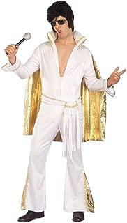 Forum Novelties Inc. Rock N Roll Elvis Adult Costume,White,Standard
