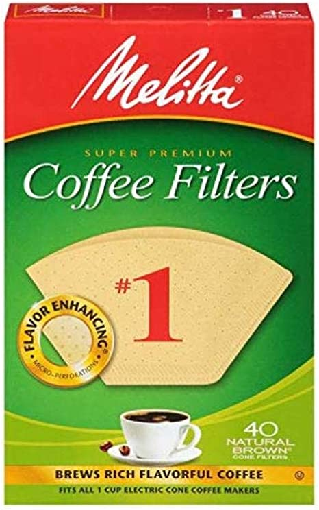 XXL Melitta Coffee Filter 1x6 1-Hole Filter Vintage Design Coffee Coffee Kitchen Country House Kitchen Rustic Coffee Pot Mid century Brocante