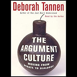 The Argument Culture cover art