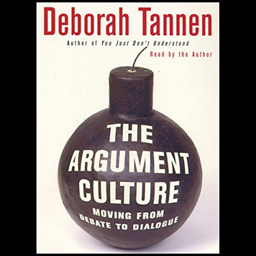 The Argument Culture audiobook cover art