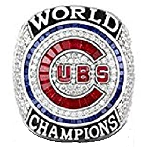 Cubs 2016 Chicago World Champions Ring Replica Size 11 Baez