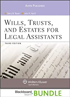 Blackboard Bundle: Wills Trusts & Estates for Legal Assistants 3e