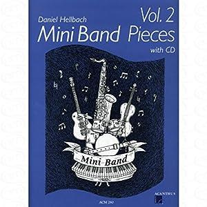 Musik-Noten Ausgabe / Score / Sheetmusic : Mini Band pieces 2 arrangiert für Ensemble Ausgabe: PART ST CD