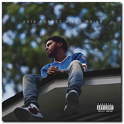 Andreychikovy J_Cole Album Forest Hills Drive Cover Poster - No Frame