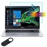 "15.6"" Anti Blue Light Anti Glare Screen Protector for Acer Aspire 5  AcerAspireE15  AcerChromebook15  Acer Nitro 5  Acer Predator 300 15.6', Reduces Eye Strain Block UV and Reduce Fingerprint"