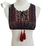 Nuevo estilo étnico, bordado de encaje, cuello de cuello,...