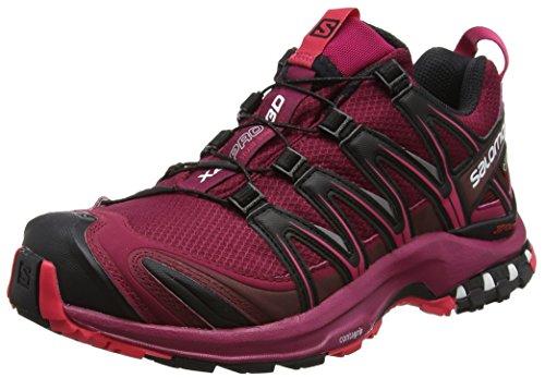 Salomon XA Pro 3D GTX, Calzado de Trail Running para Mujer, Rojo/(Beet...