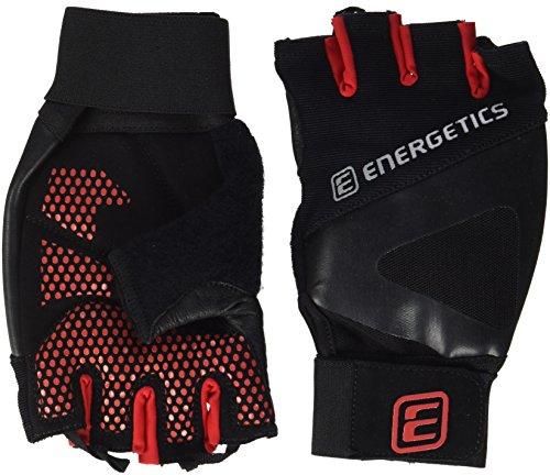 Energetics 510 - Guanti da uomo, taglia XL, colore: Nero/Rosso