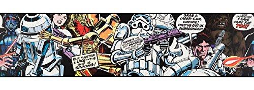 Graham & Brown 90-063 PropylenBordüre Star Wars Cartoon Kollektion Kids @ Home