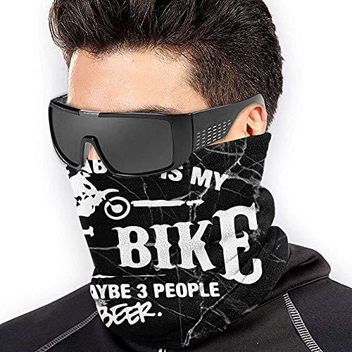 Duang Neck Warmer alles wat ik interesseert, is mijn Dirt Bike Neck Gaiter winddichte halswarmer naadloos duurzaam unisex gezellig zacht speciaal muziekfestival gepersonaliseerd