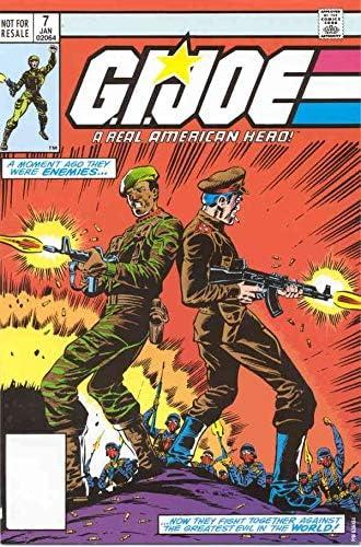 G.I. Joe a Real American Hero Max 52% New arrival OFF #7 Marvel comic FN book 3rd ;