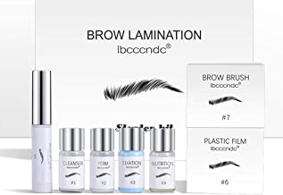 Brow Lamination Kit, Professional Eyebrow Lift Kit, Eyebrow Pomade - Easy to Use, Long Lasting, Perfect for Fuller Messy D...