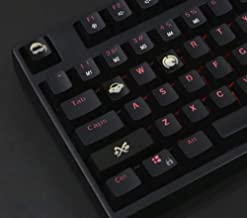 Mugen Custom Lucio Overwatch Gaming Keycaps Set for Cherry MX Switches - Fits Most Mechanical Gaming Keyboards - with Keyc...