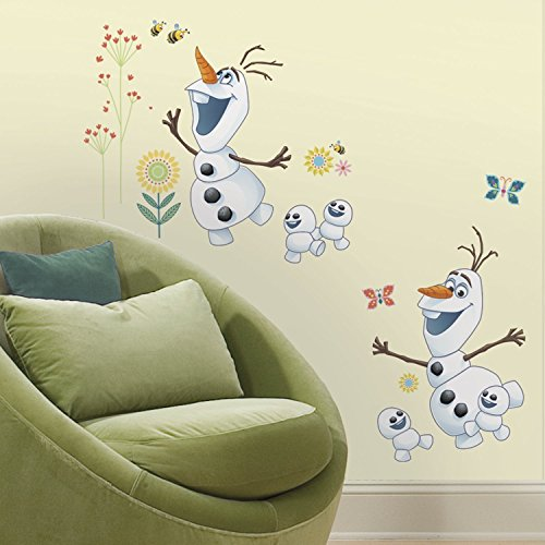 Bavaria-home-style-collection- Hochwertiger Wandtattoo Tattoo Wand - Olaf - künstlerisch mit außergewöhnlichem Design Macht die Wand zu einen echten Blickfang